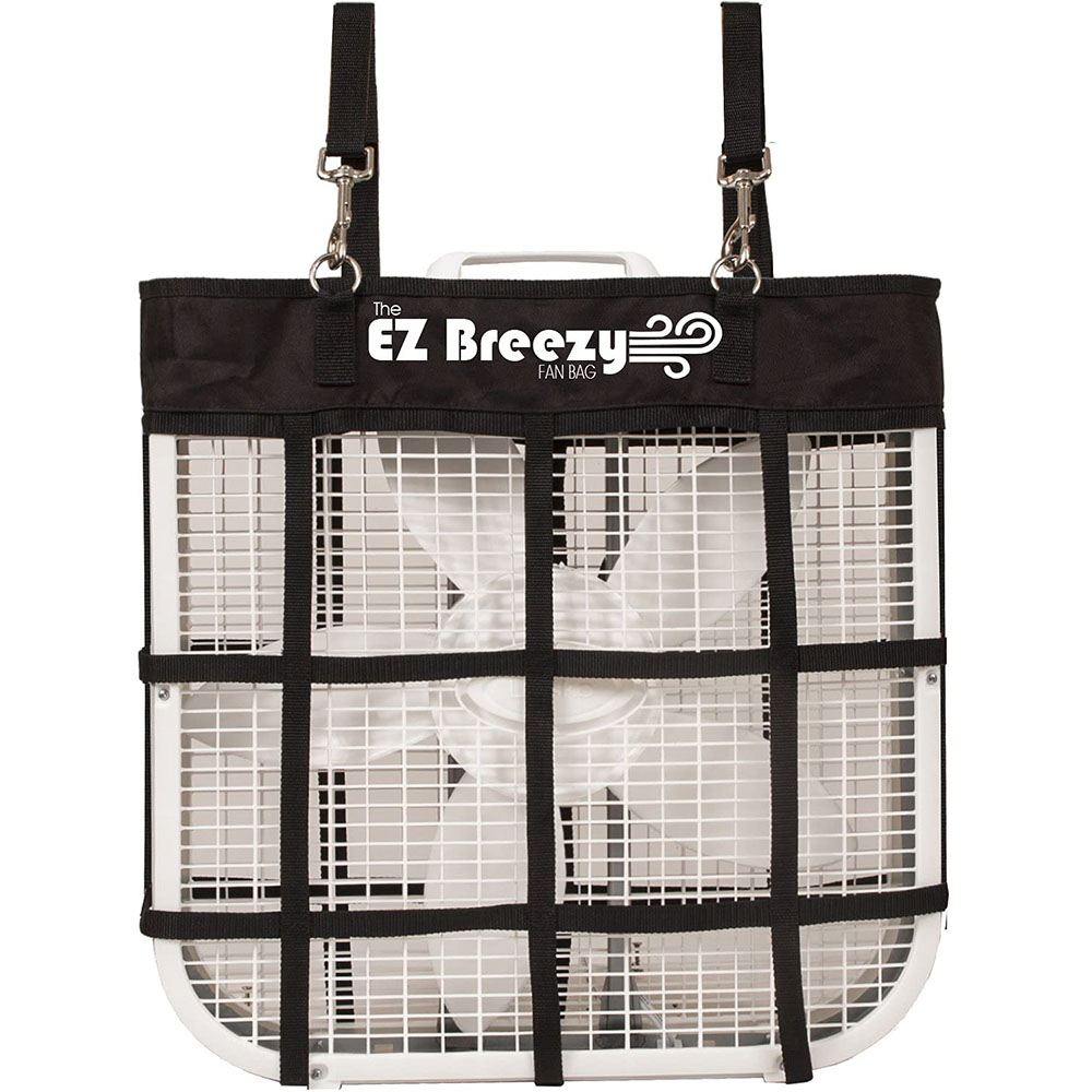 Read more about the article Southwestern Equine – EZ Breezy Horse Stall Fan Bag