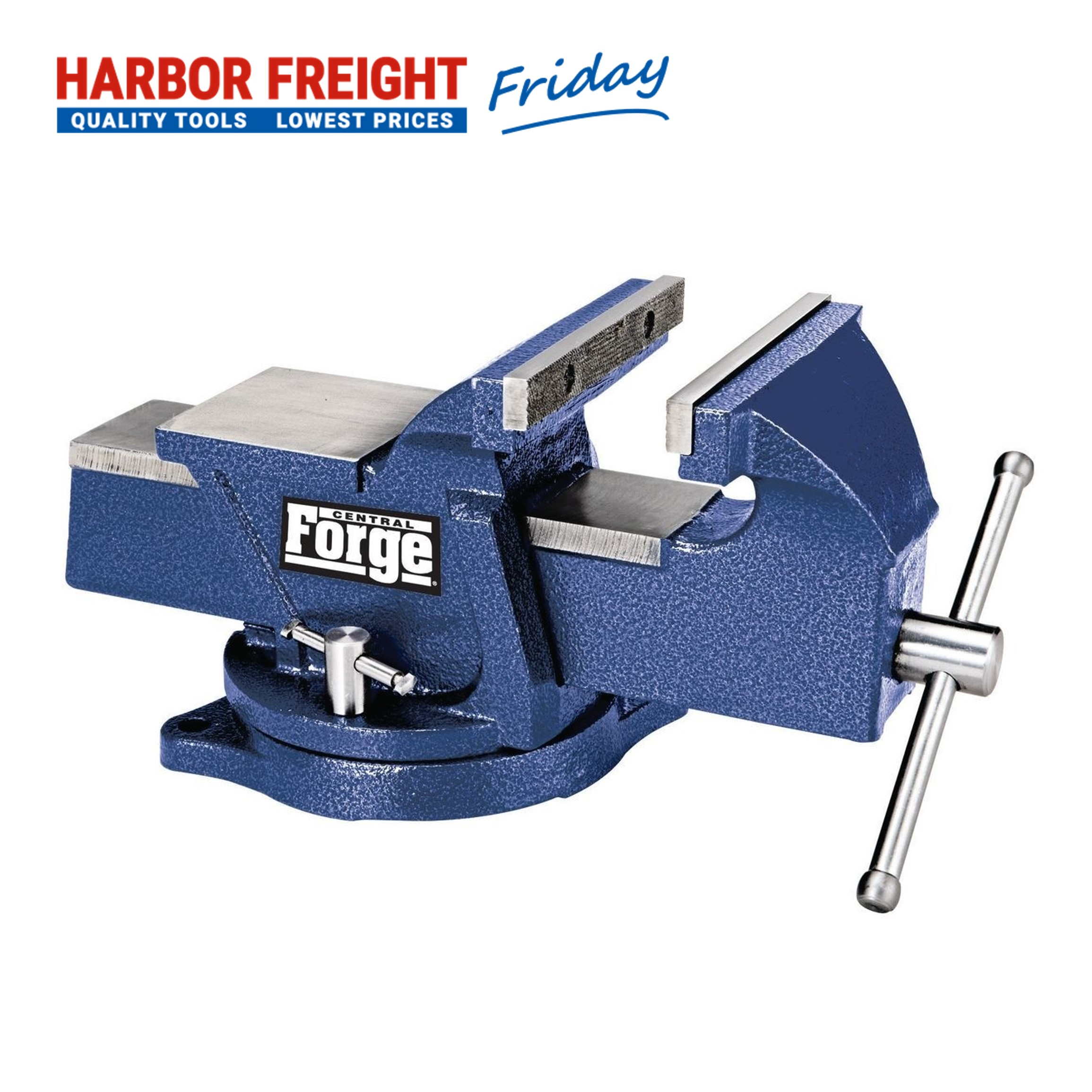 Read more about the article Central Forge – 6 In. Swivel Vise With Anvil