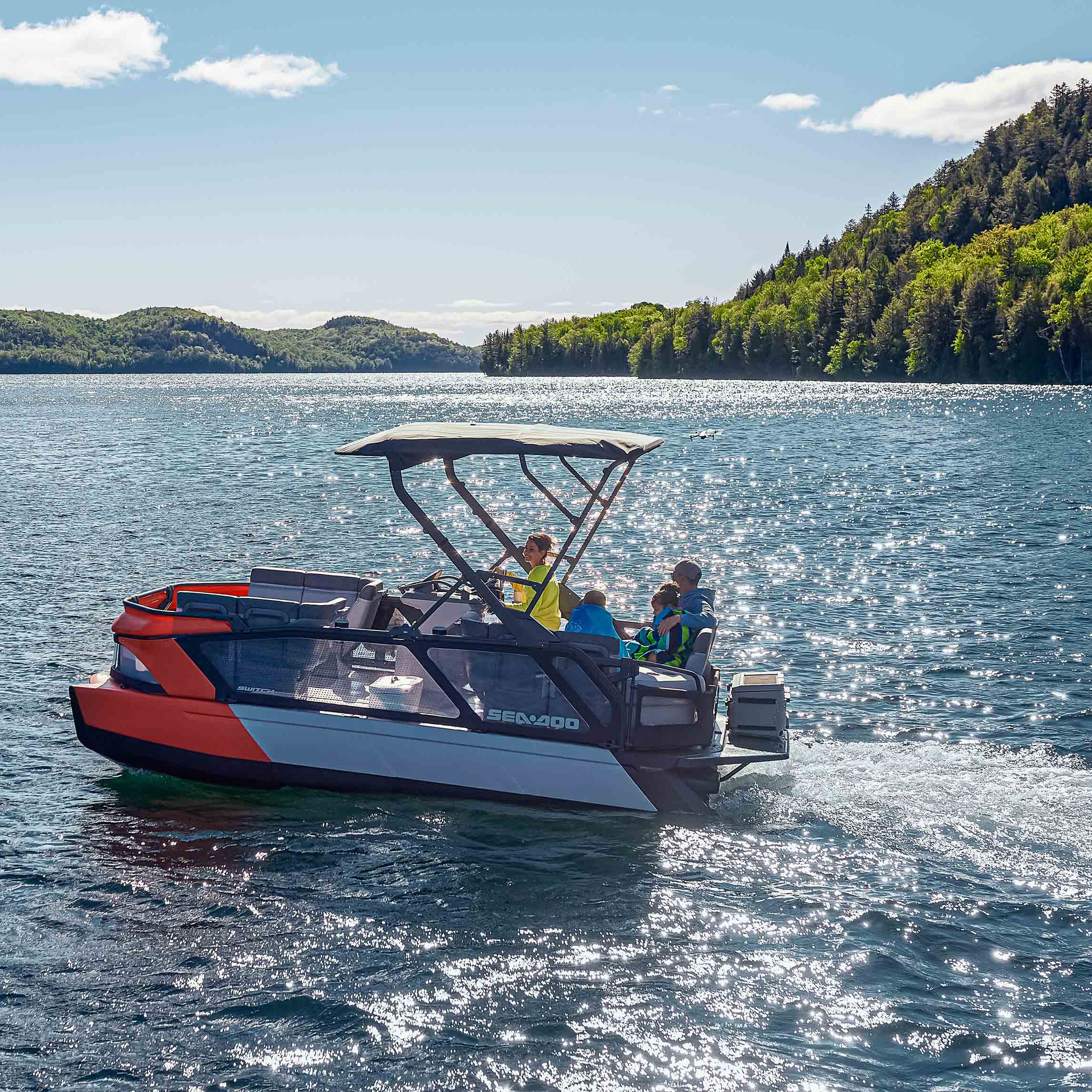 Read more about the article Sea-Doo – 2022 Switch Pontoon