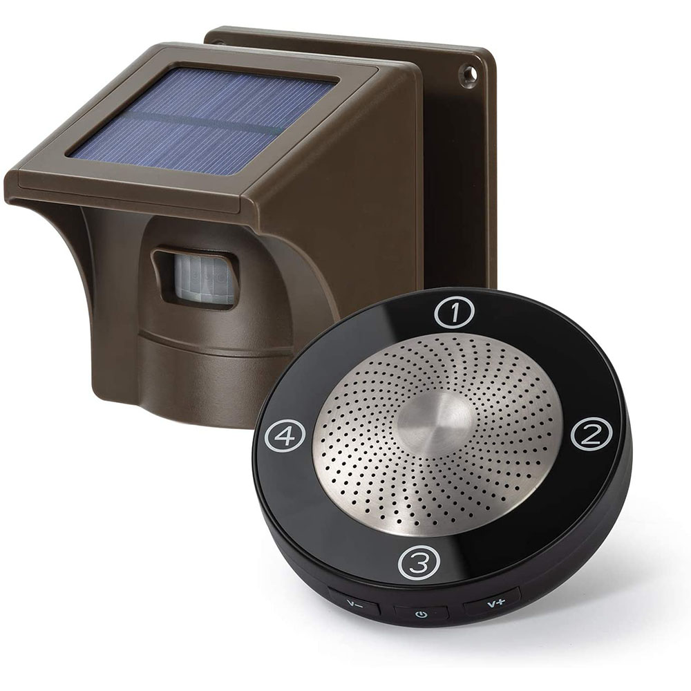 eMarcos – HS002 1/2 mile Solar Wireless Driveway Alarm