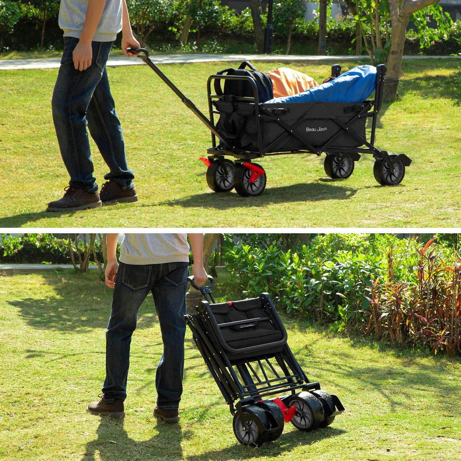 Read more about the article BEAU JARDIN – Folding Wagon Cart