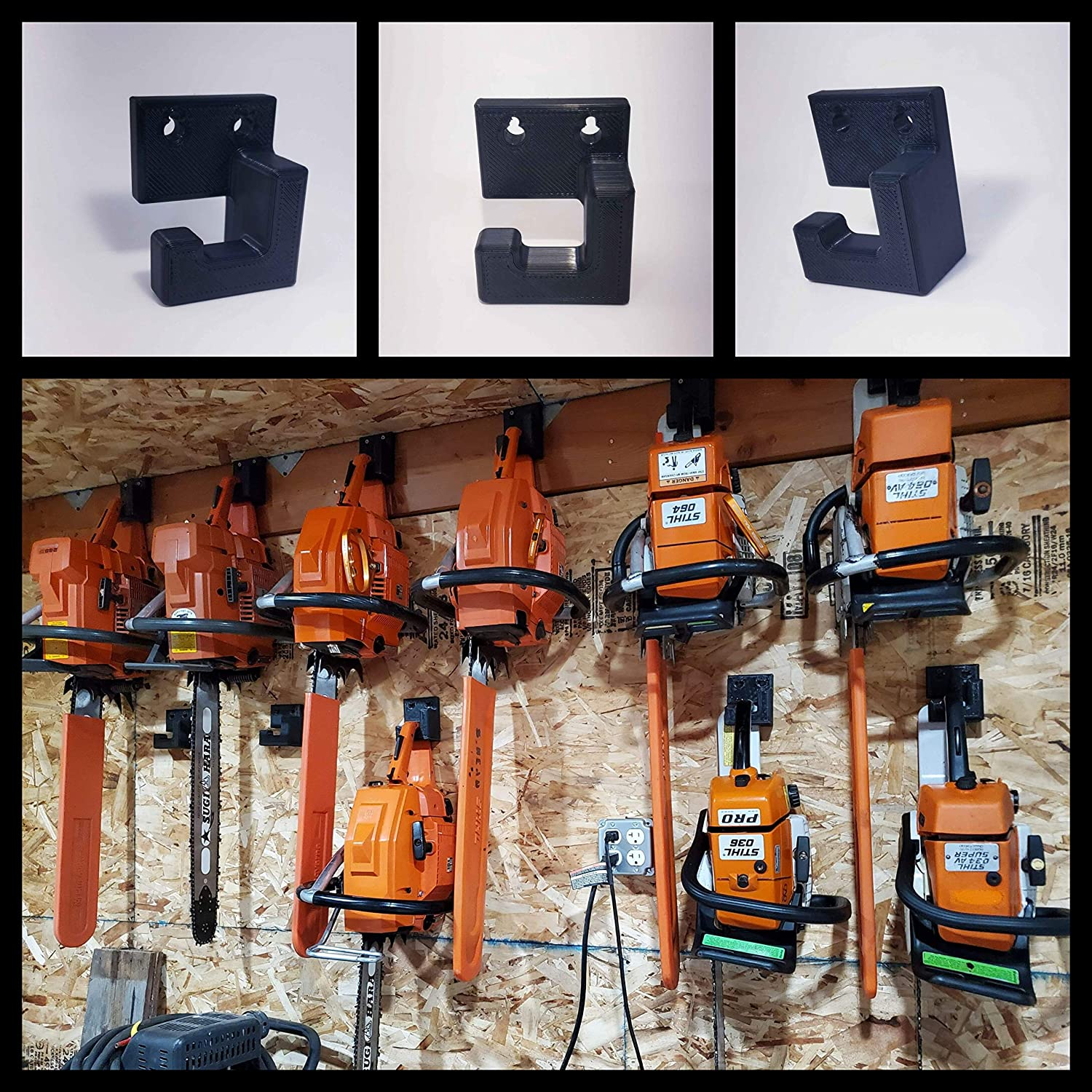 Read more about the article Midwest Saws – Low Profile Chainsaw Wall Hanger