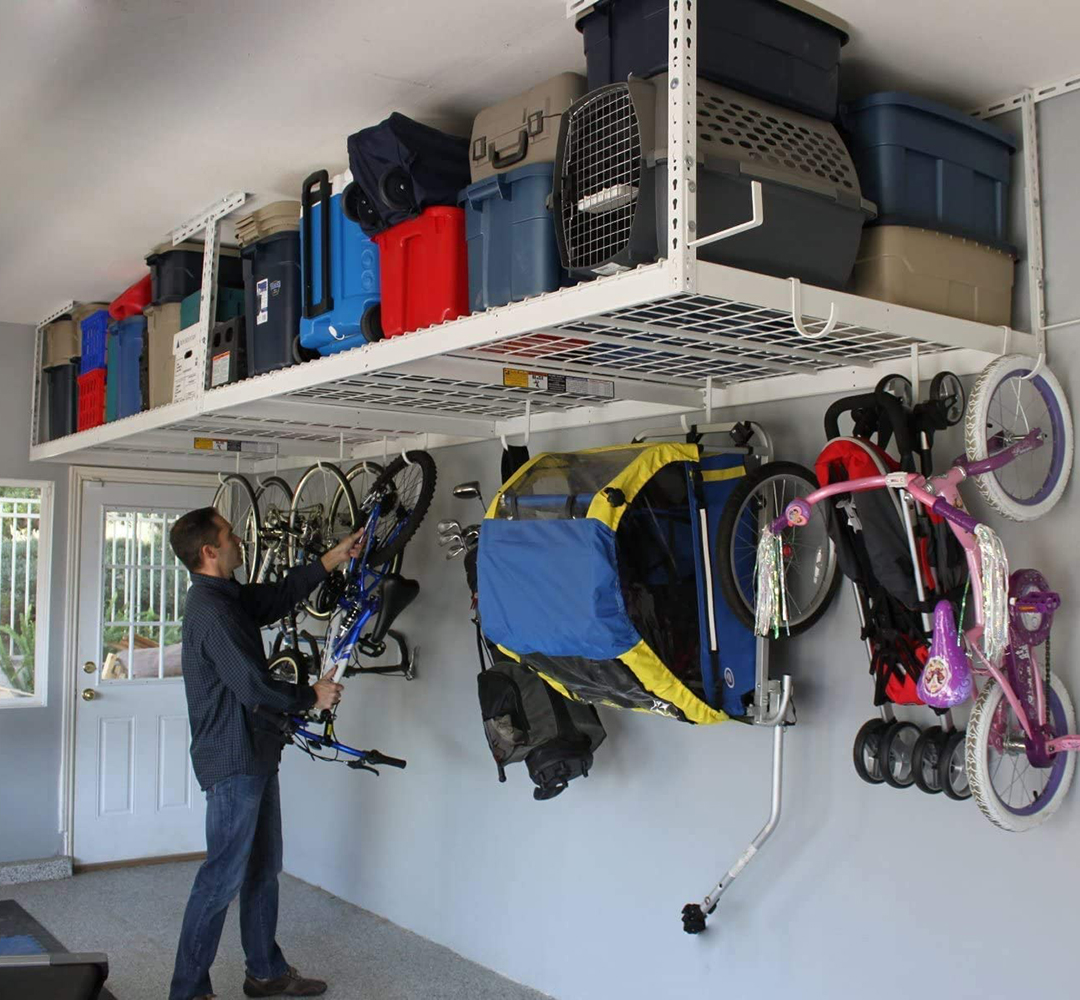 Read more about the article SafeRacks – Overhead Garage Storage Combo Kit