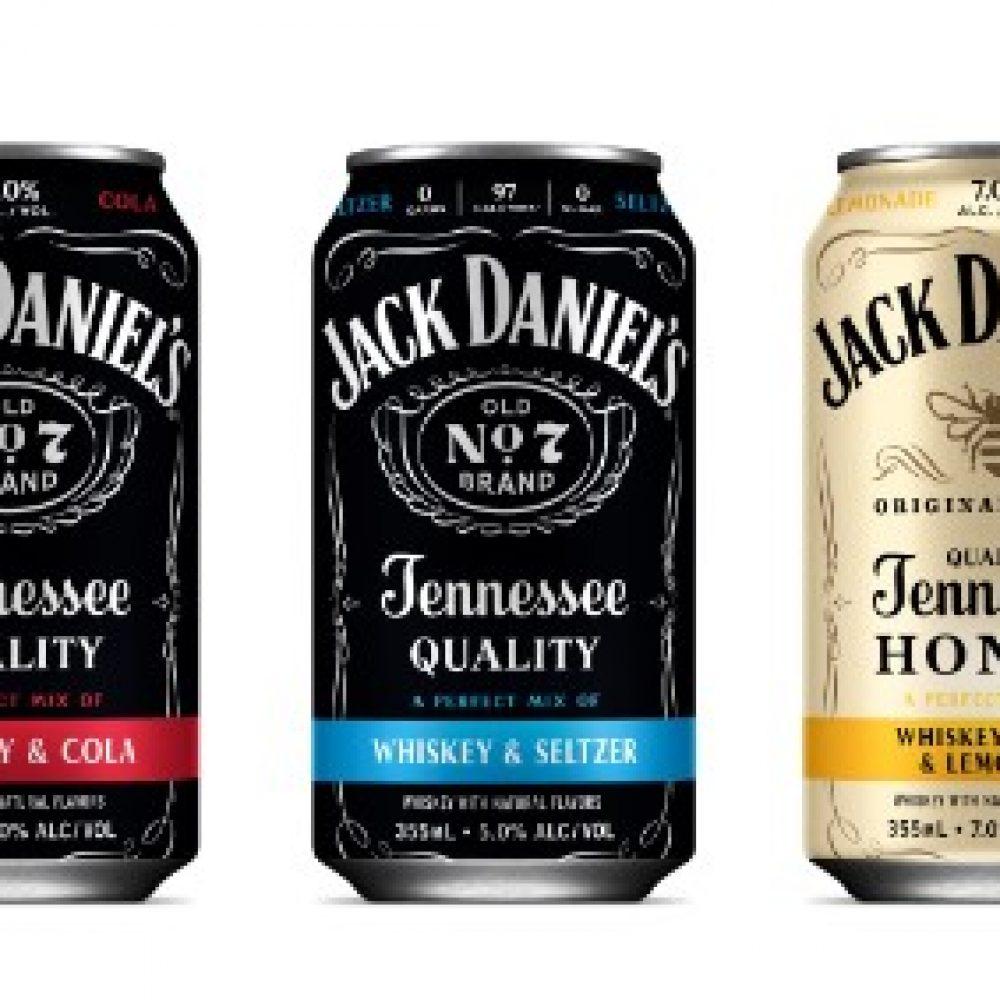 Jack Daniels canned cocktails 3
