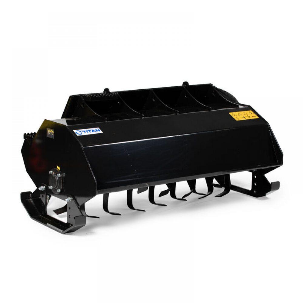 Titan Attachments - 5 Ft Skid Steer Rotary Tiller