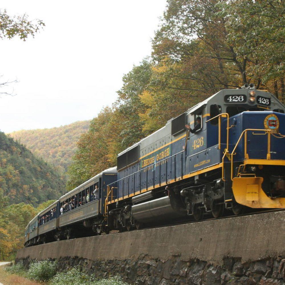 Trip - Lehigh Gorge Scenic Railway