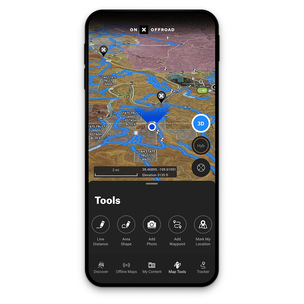 onXmaps - Trail Guide Program