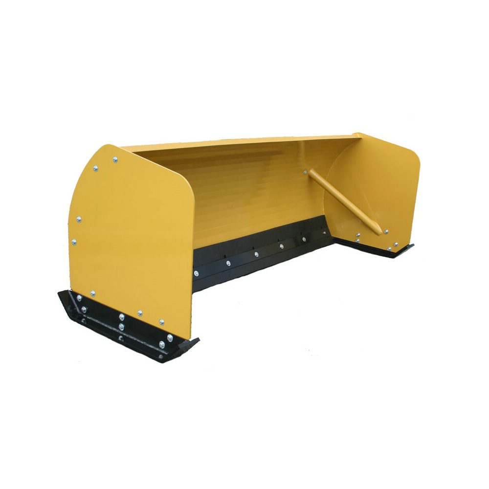 Titan Attachments - 8' Skid Steer Snow Pusher